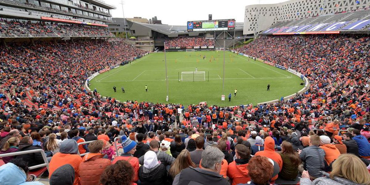 FC Cincinnati beats in-state rival Columbus Crew SC 1-0 at Nippert