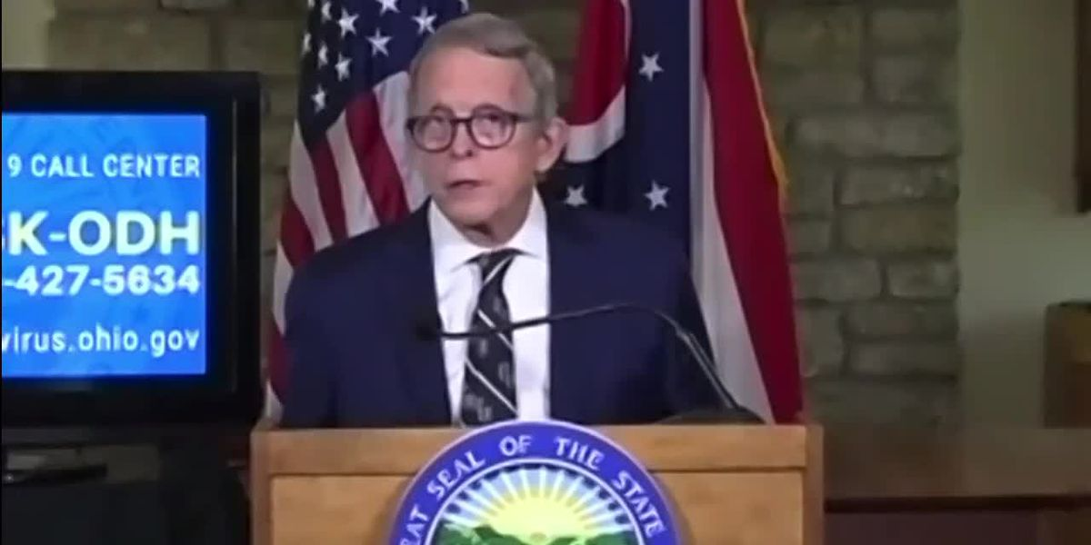 Gov. DeWine tests negative again for COVID-19 in PCR test