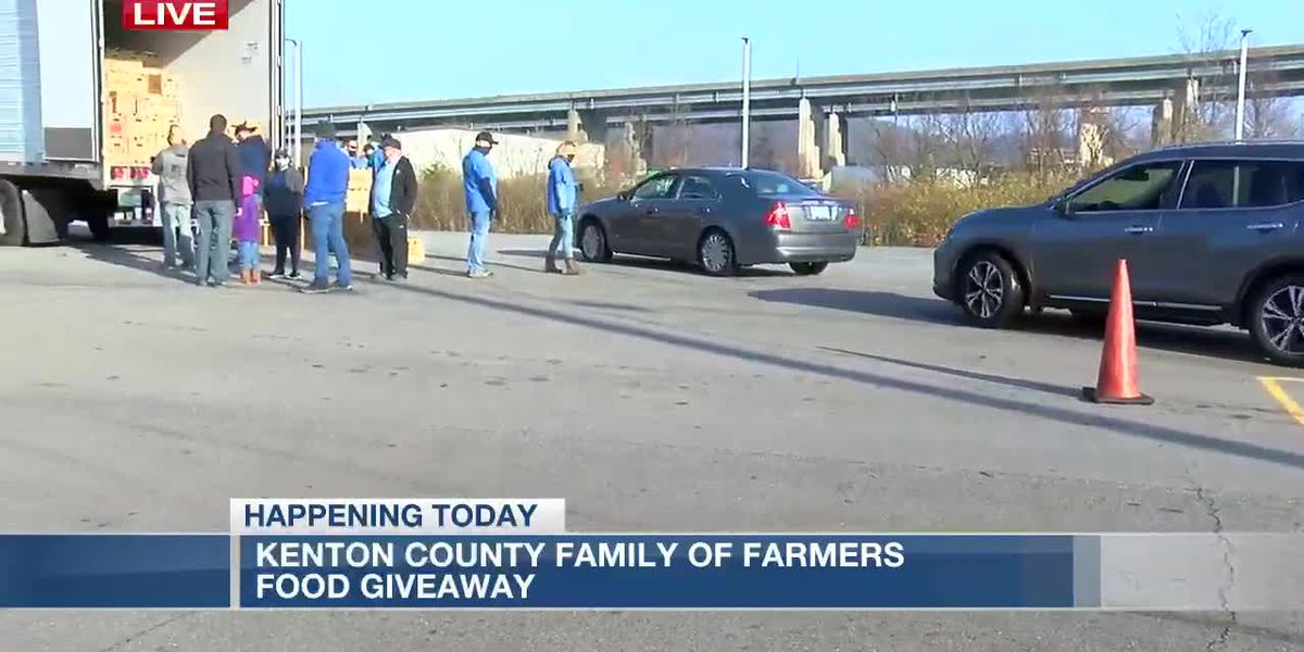 Northern Kentucky FOPs giving hundreds of food boxes to families in need