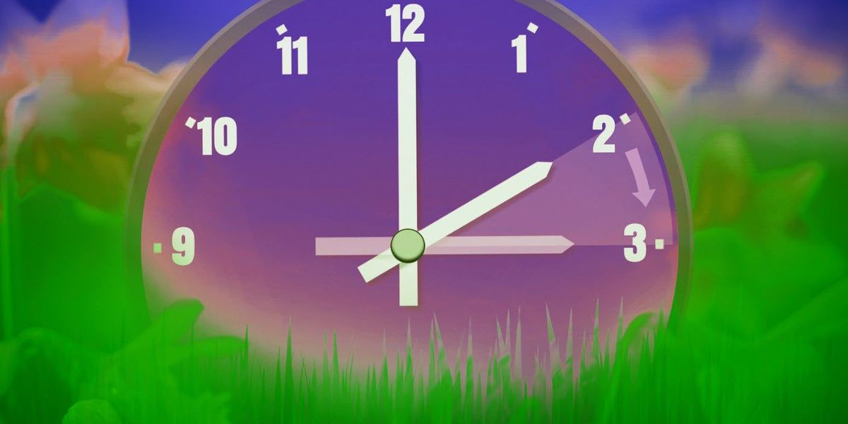 Clocks 'Spring forward' this weekend