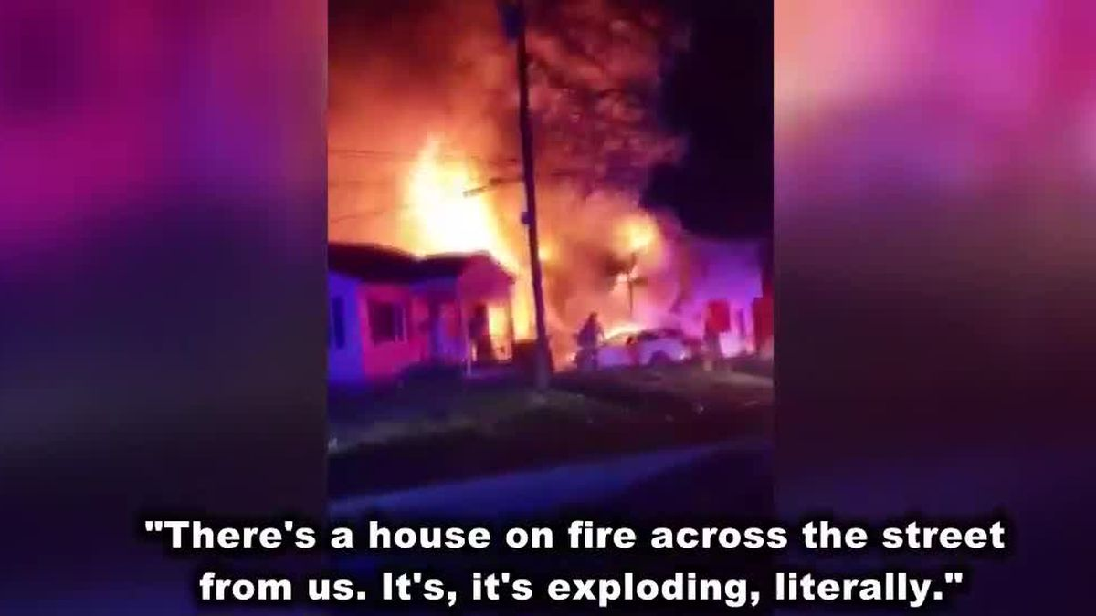 86-year-old woman escapes explosive house fire in Butler County