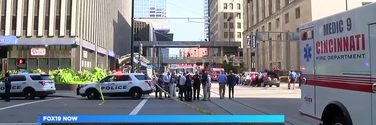 City officials thank those who responded first to 5/3 Bank shooting