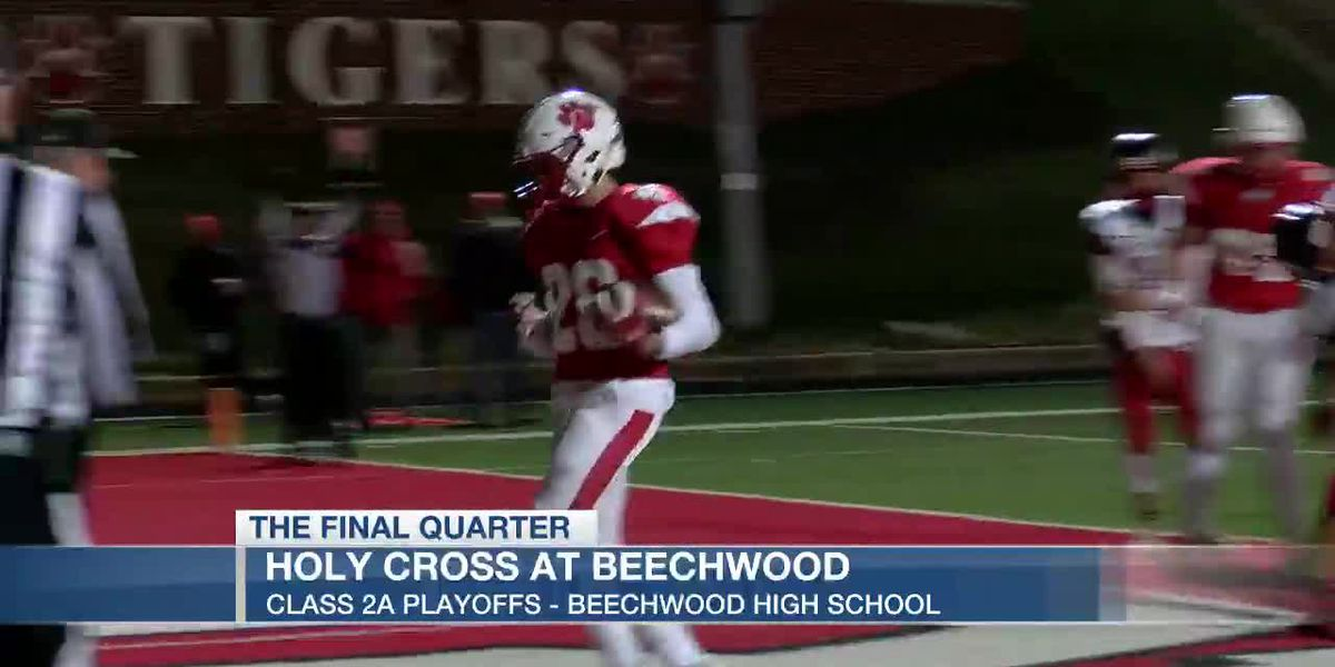Beechwood wins big in playoff opener
