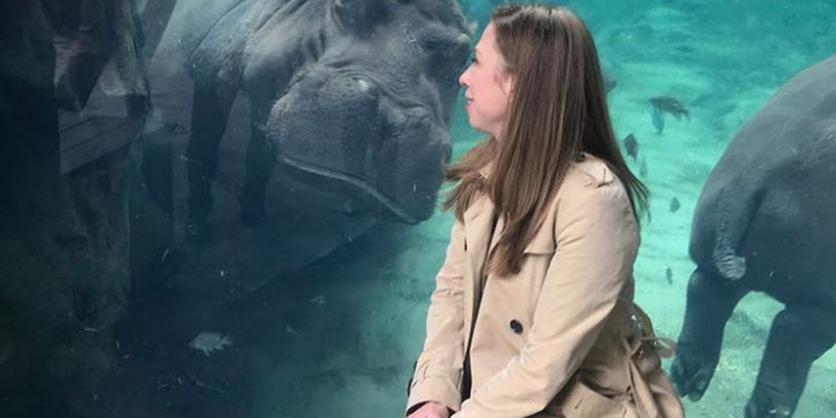 'So inspired by you': Chelsea Clinton makes book tour stop to meet Fiona