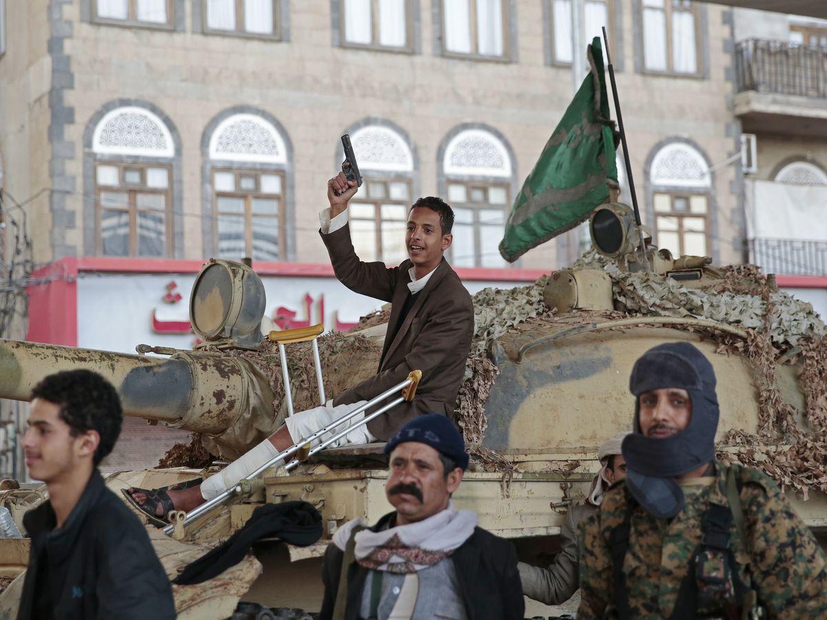 Yemeni rebels say they will halt rocket fire at Saudi Arabia