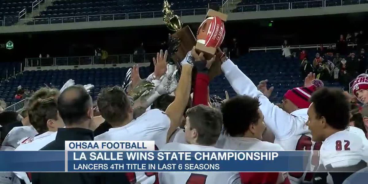 La Salle wins 4th state football title in 6 seasons