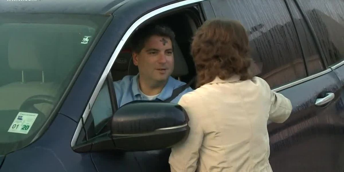 Ash and Dash: NKY church holds drive-thru service Ash Wednesday