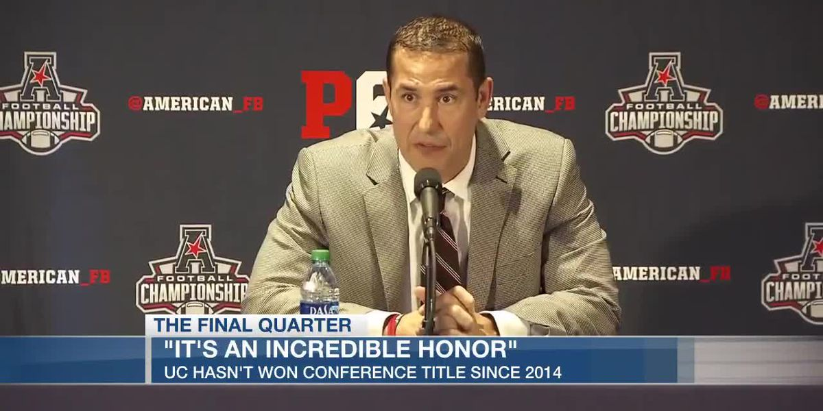 Luke Fickell talks day before AAC title game in Memphis