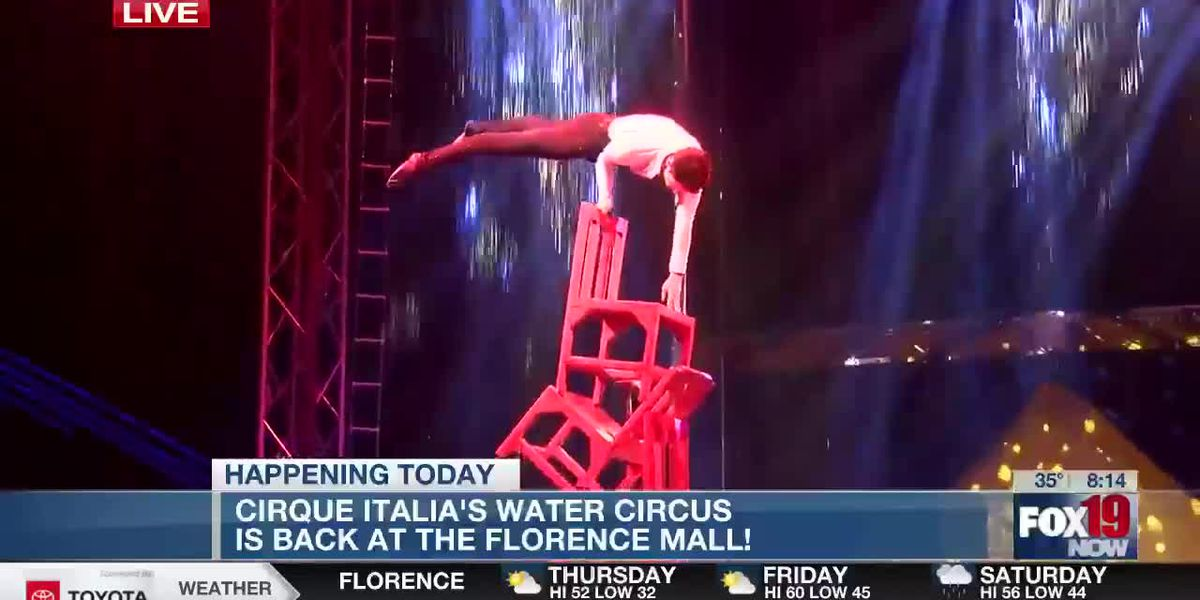 Cirque Italia's water circus is back at Florence Mall