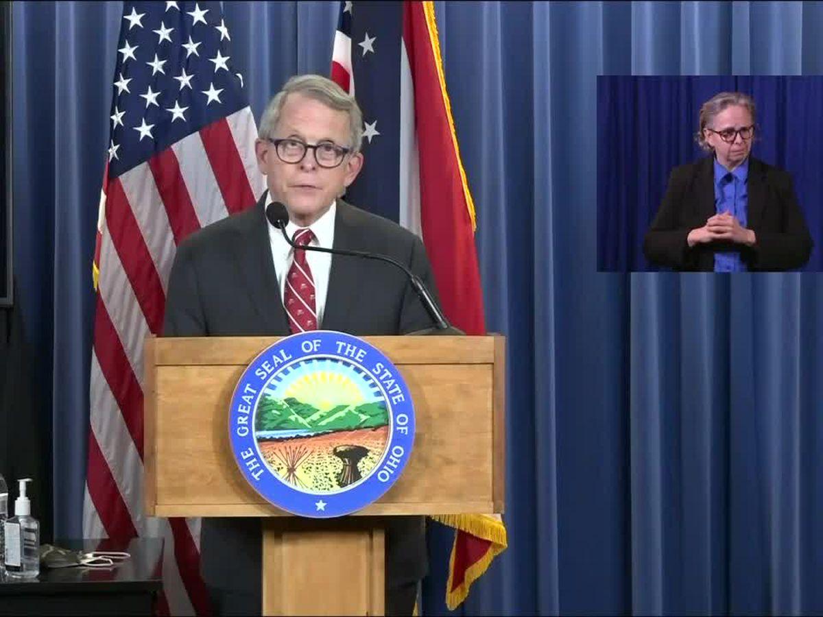 WATCH LIVE: Gov. DeWine updates Ohio's coronavirus response
