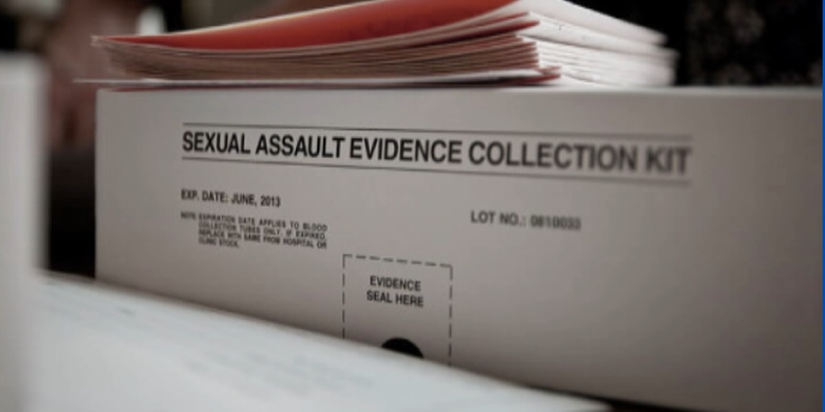 New bill would allow rape victims to track assault kits online