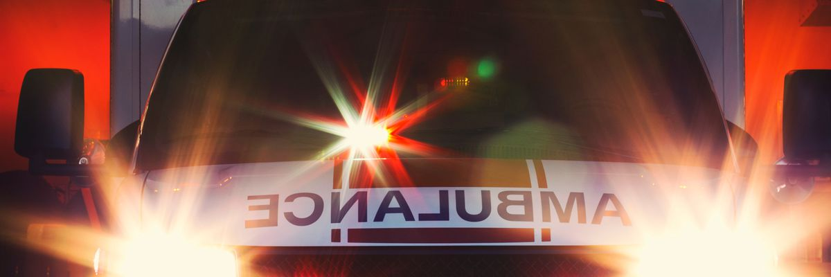 Suspect steals ambulance from Clearcreek Township fire station