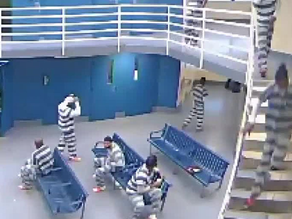 Sheriff's office releases surveillance video of alleged inmate assault on deputy: WATCH