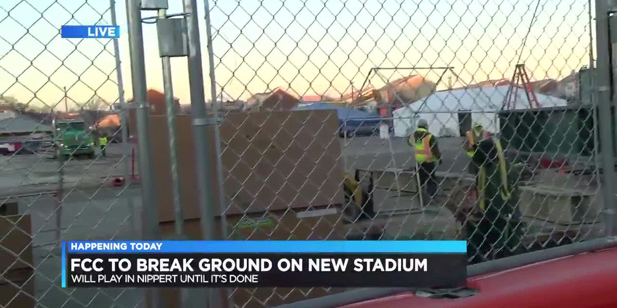 FCC to break ground on new stadium