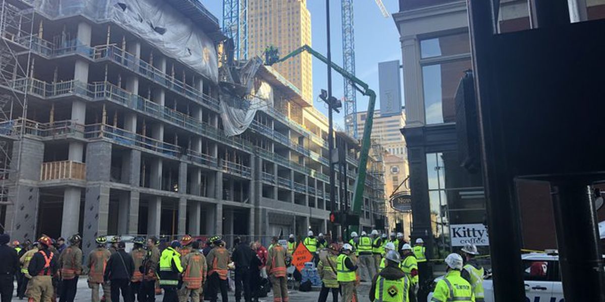 'I've got a man down:' 911 calls released from downtown building collapse