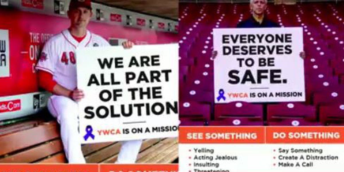 'See something, do something': Reds team up with 2 organizations to combat domestic violence