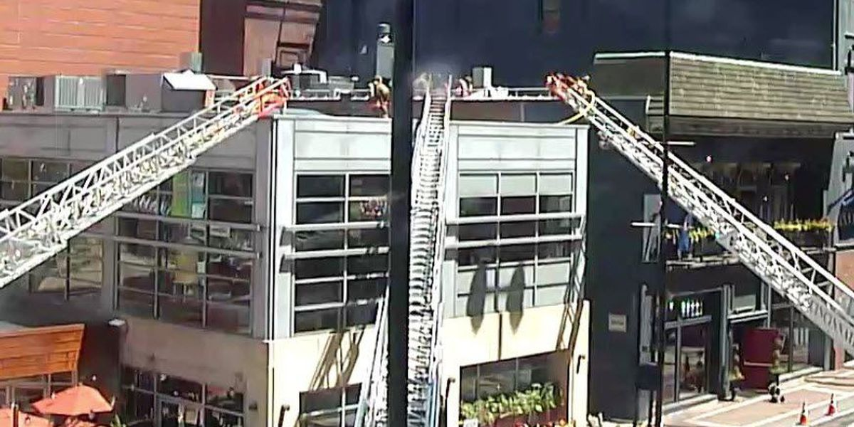 Owner expects 2 downtown restaurants to be open Wednesday night despite fire