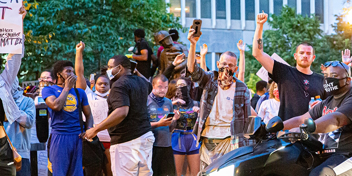 ACLU, NAACP sue LMPD, City of Louisville for alleged excessive force on protesters
