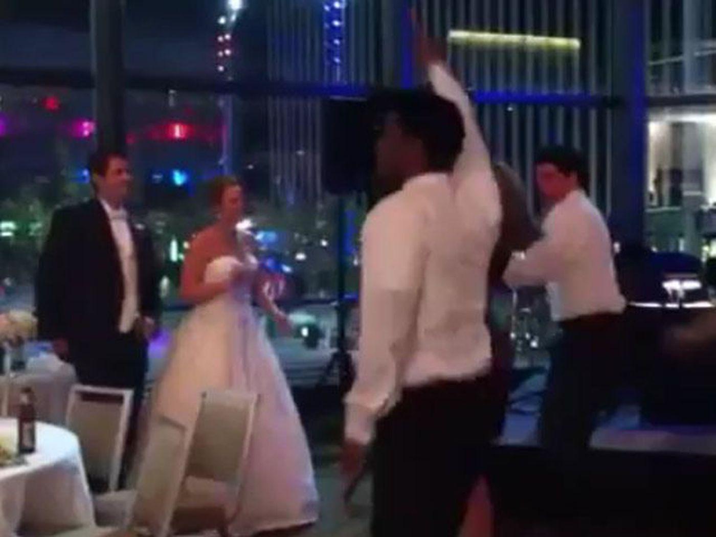 Video Fox19 Flash Mob At Meteorologist Katy Morgans Wedding