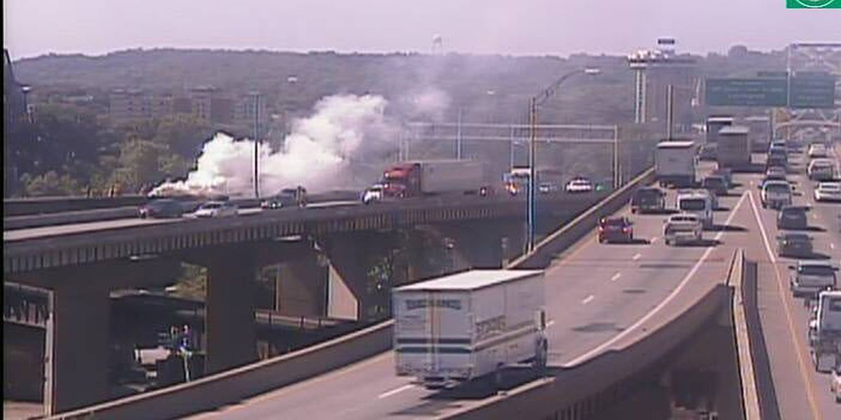 I-71 reopens after vehicle fire