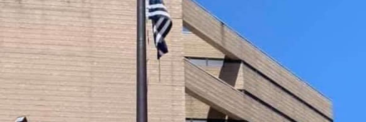 Driehaus calls raising of Thin Blue Line flag 'provocative and inappropriate'