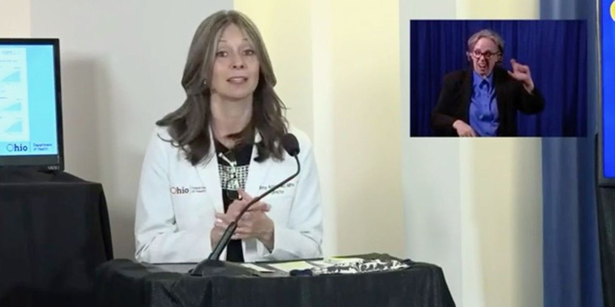 Dr. Amy Acton steps down as director of the Ohio Department of Health