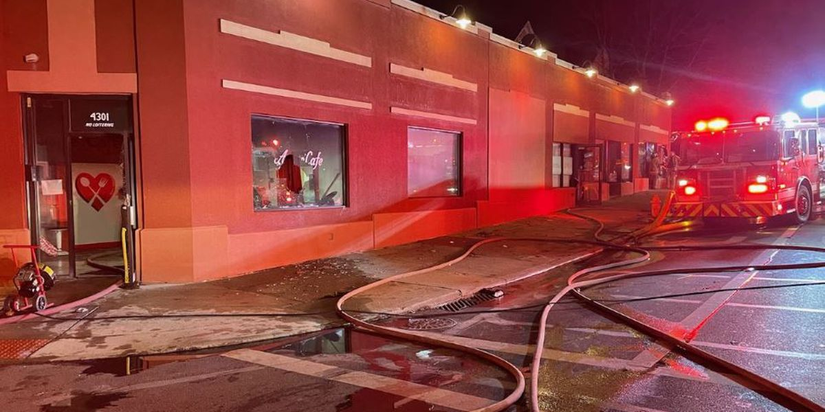 Arson suspected in fire that damaged Madisonville restaurant, neighboring small businesses
