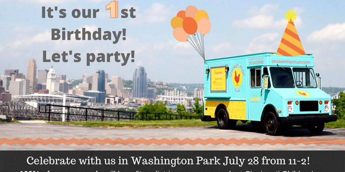 Help Chicken Mac Truck celebrate its 1st birthday