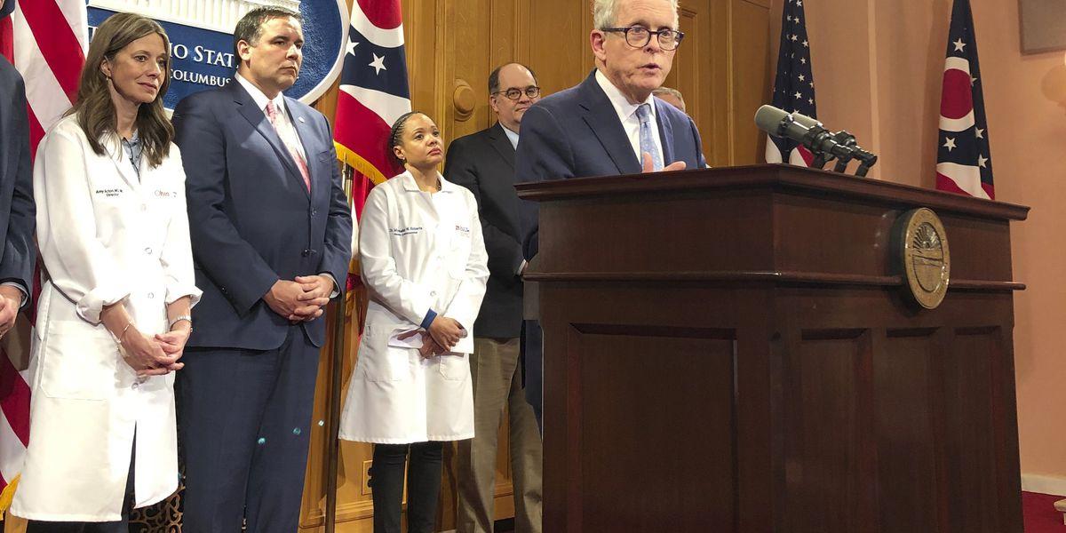 One year ago today: Gov. DeWine announces Ohio's first coronavirus cancellation