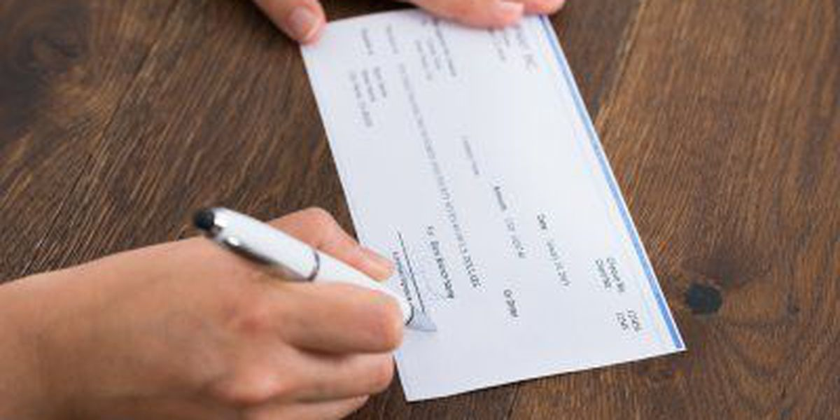 Montana man complains tax check saying 'sexual favors' not cashed
