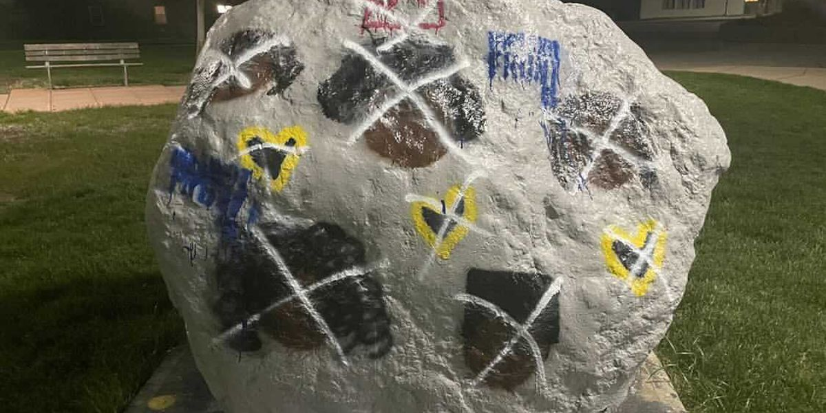 White supremacist graffiti found on NKU's campus for second time this year