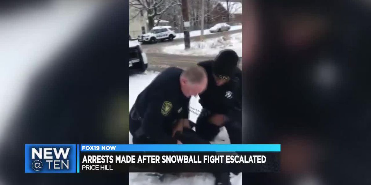 Arrests made after Price Hill snowball incident