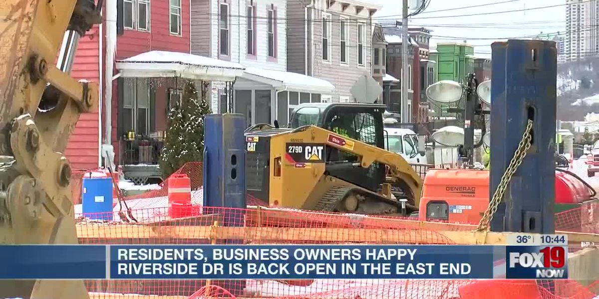 Residents, business owners happy Riverside Drive is back open in the East End