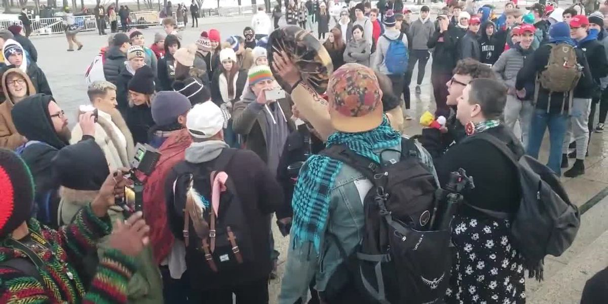 Video from the Indigenous Peoples March