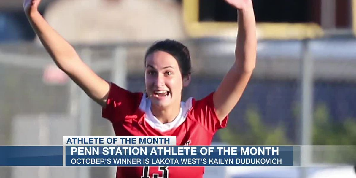 October Penn Station Athlete of the Month
