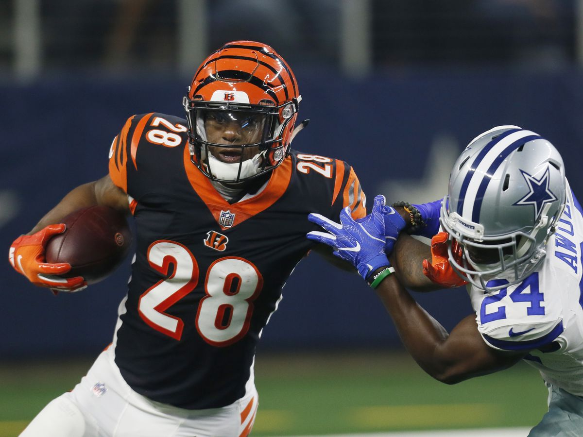 Joe Mixon takes blame, vows to fix running game issues