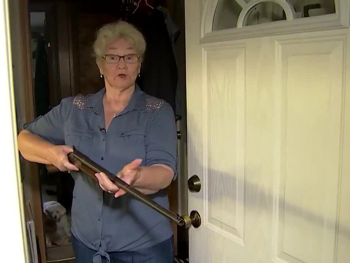 Grandmother holds intruder at gunpoint in Washington