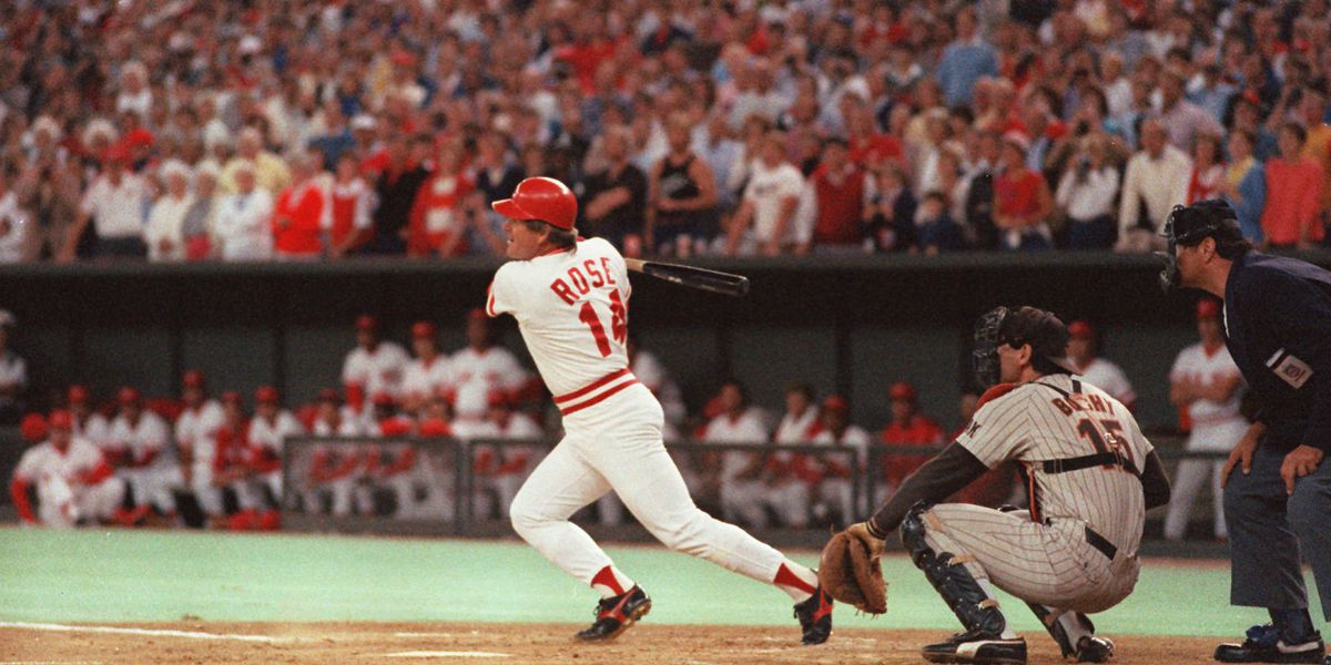 OTD in 1985: Pete Rose surpasses Ty Cobb as MLB all-time hit leader