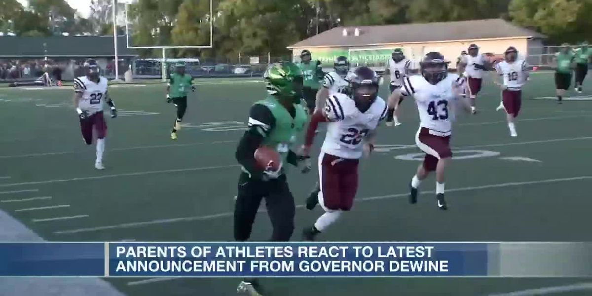 Parents react to Gov. DeWine's sports order