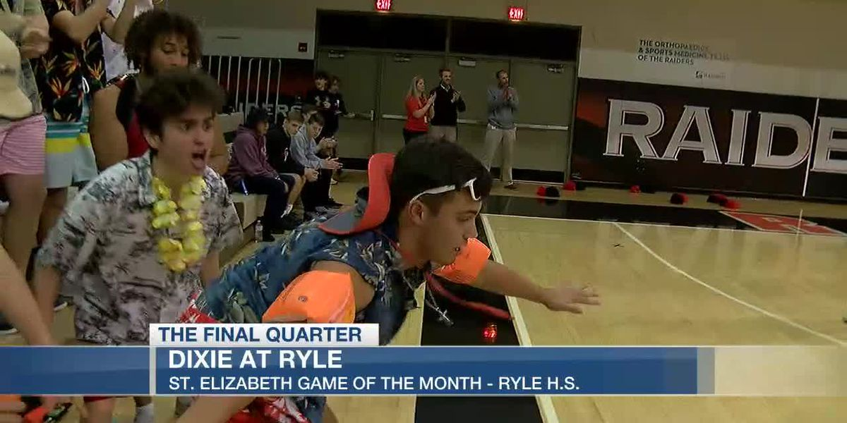 Dixie wins St. Elizabeth Game of the Month at Ryle