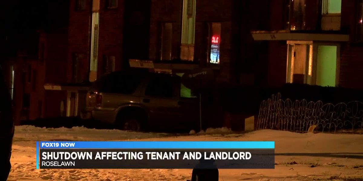 Shutdown impacting tenants, landlords