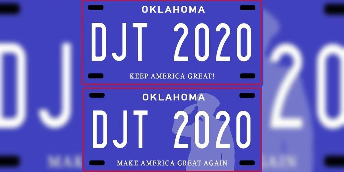 Lawmakers propose 'Make America Great Again' license plate in Okla.