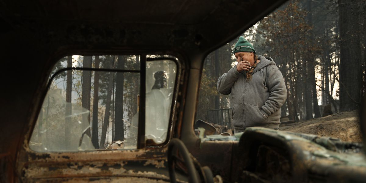 The Latest: Crews make progress with N. California wildfire