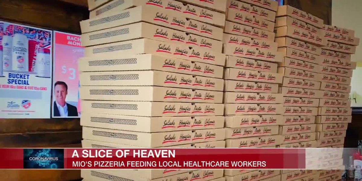 Slice of heaven: Mio's Pizzeria in Clifton helping feed local healthcare workers