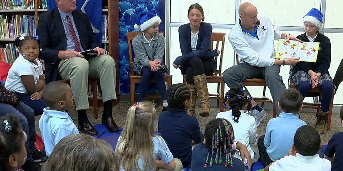 XU Coach Chris Mack opens reading oasis inside NCH elementary