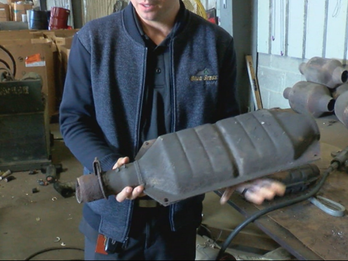Thieves cash in on stolen catalytic converters