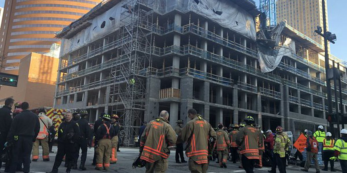 Work to resume on Downtown building after worker killed in partial collapse