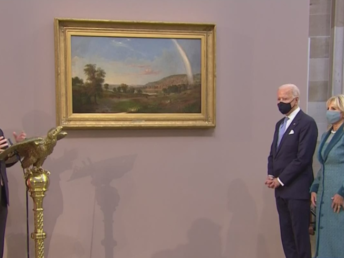 Joe Biden's Inaugural Painting comes from renowned Cincinnati artist