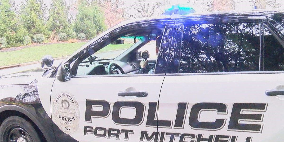 Police attempting to slow speeders near Fort Mitchell school