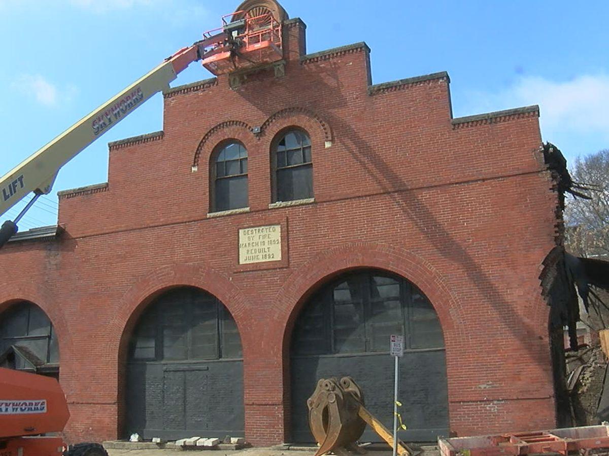Historic Mt. Auburn cable house demolished